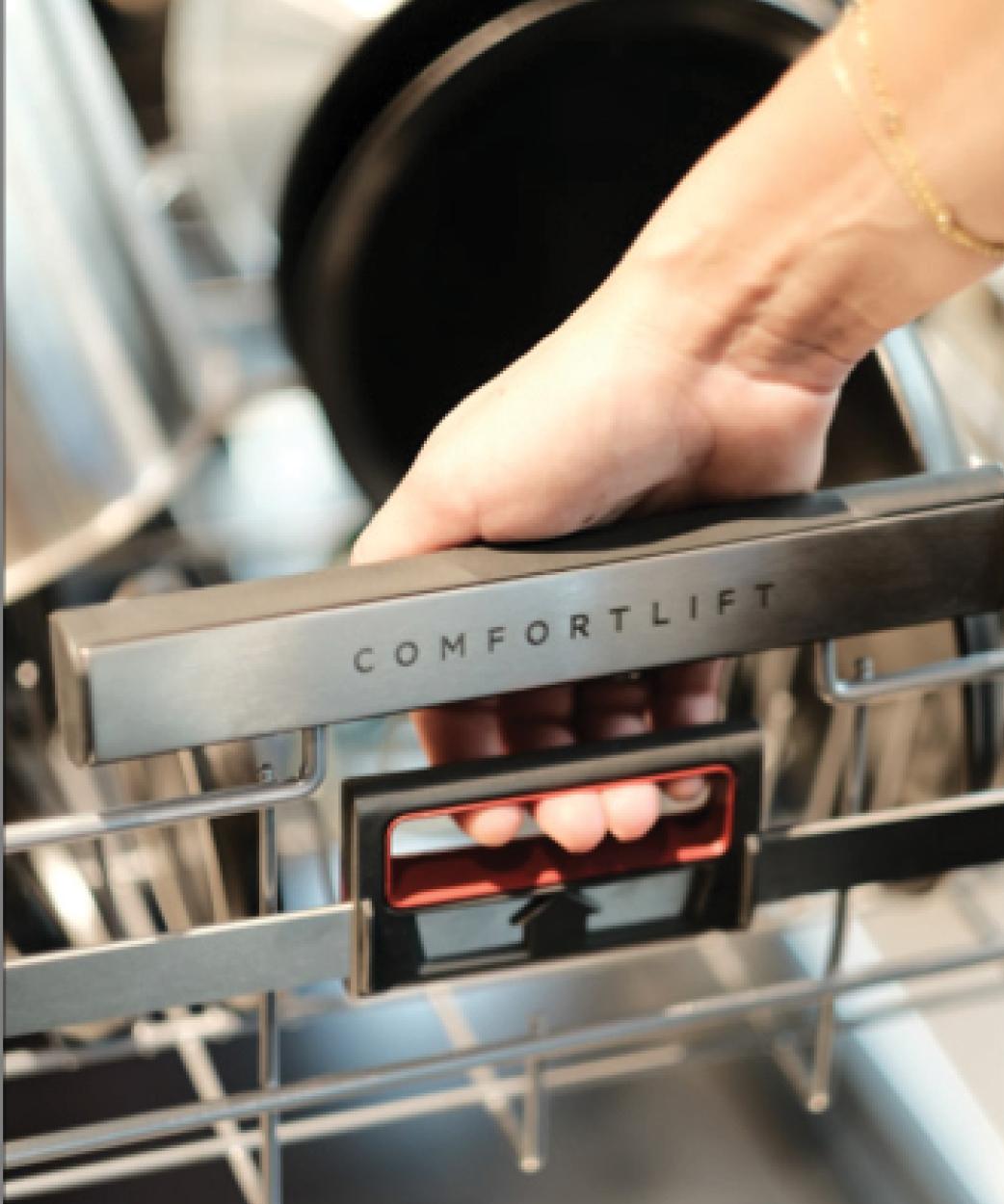 Vaskemaskin som benyttes i seniorleiligheter i Oslo